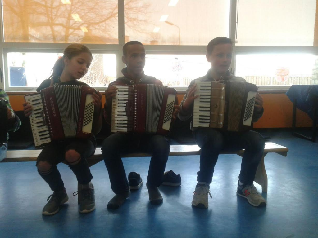 foto Marieke de Vries accordeon